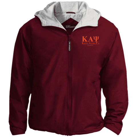 Image of Kappa Alpha Psi Embroidered Team Jacket - Unique Greek Store