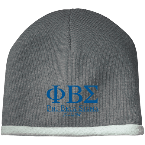 Image of Phi Beta Sigma Performance Knit Cap - Unique Greek Store