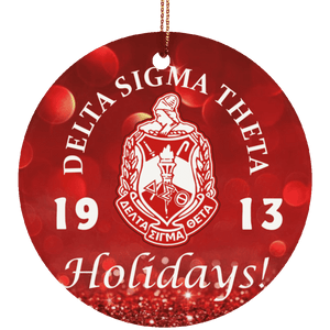 Delta Sigma Theta Christmas Ornaments - Unique Greek Store