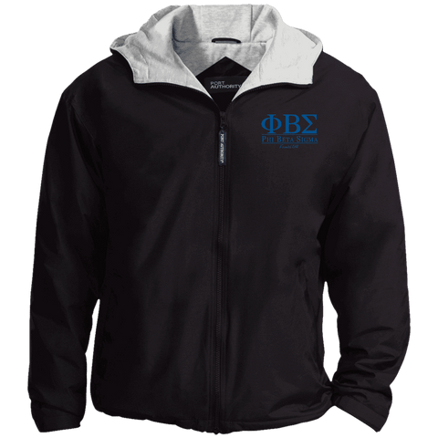 Phi Beta Sigma Embroidered Team Jacket - Unique Greek Store