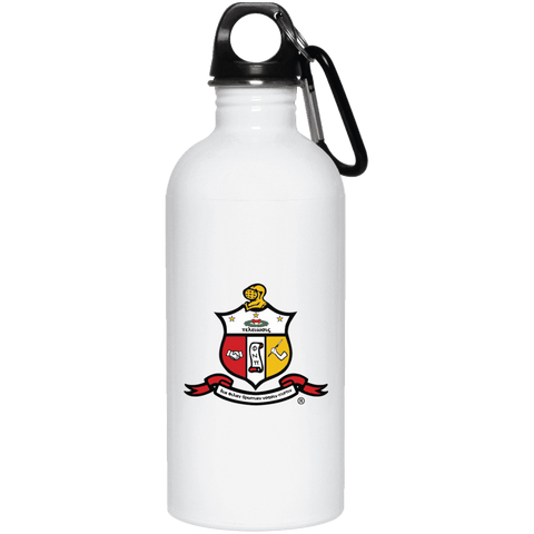 Kappa Alpha Psi 20 oz. Stainless Steel Water Bottle - Unique Greek Store