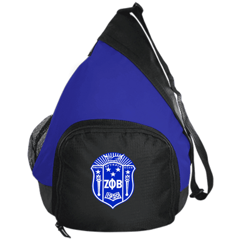 Zeta Phi Beta Active Sling Pack - Unique Greek Store