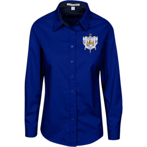 Image of Sigma Gamma Rho LS Blouse - Unique Greek Store