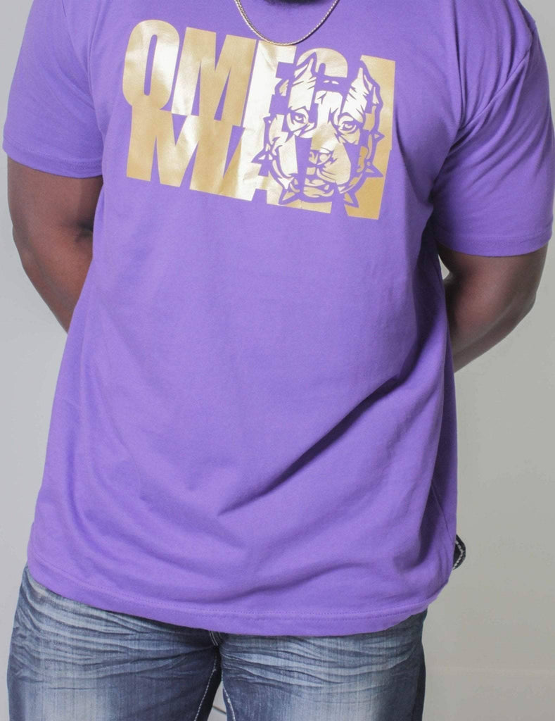 Omega Psi Phi Omega Man Tee - Unique Greek Store