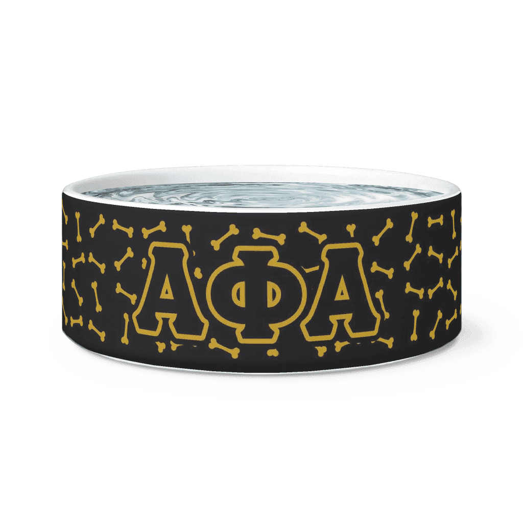 Alpha Phi Alpha Dog Bowl - Unique Greek Store