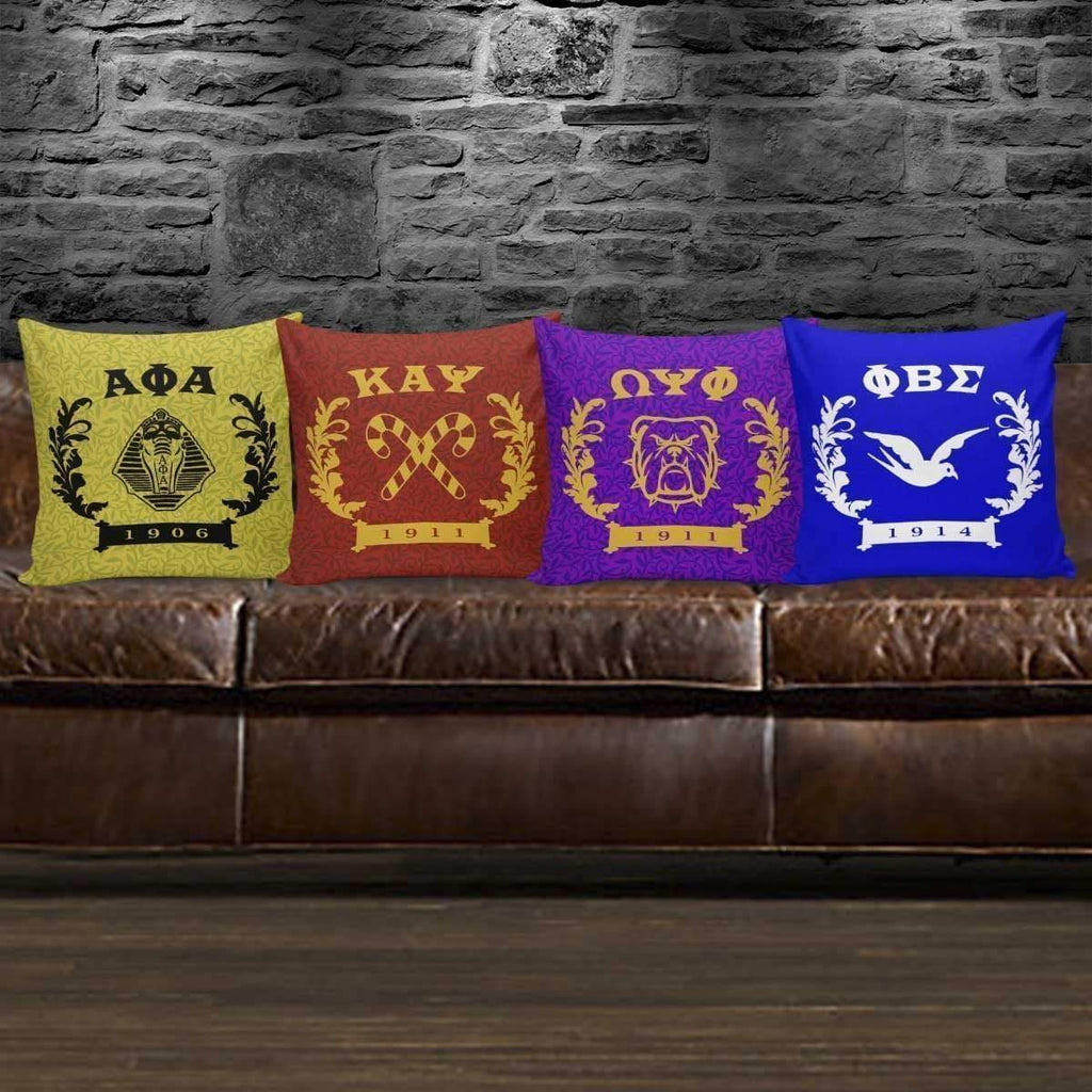 Omega Psi Phi Founding Year Pillow Covers - Unique Greek Store
