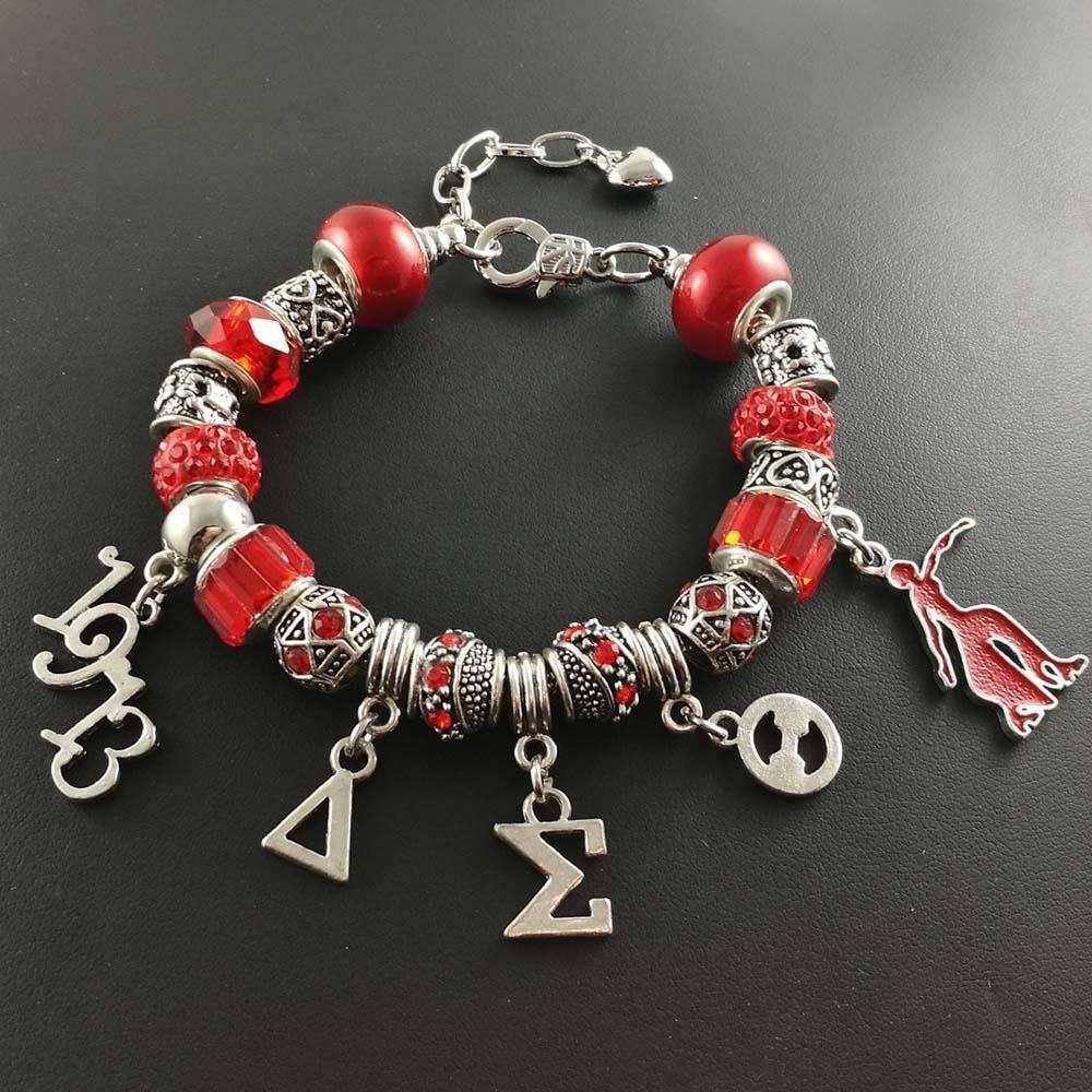 Delta Sigma Theta Pandora Jewelry Set Unique Greek Store