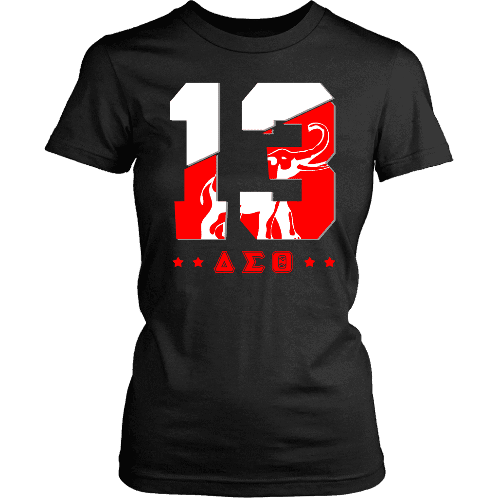 Delta Sigma Theta Founding Year District Womens Shirt - Unique Greek Store