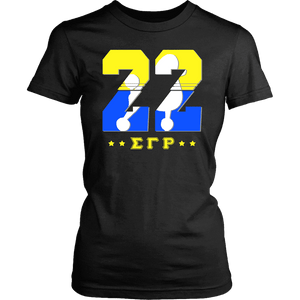 Sigma Gamma Rho Founding Year District Womens Shirt - Unique Greek Store