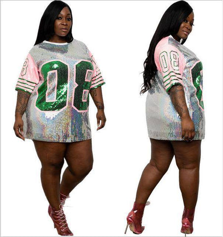 Image of Alpha Kappa Alpha Hip Hop Number 08 T-Shirts