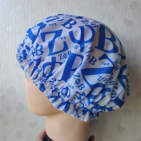 Zeta Phi Beta Customize Shower Cap