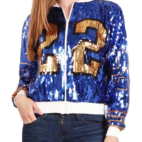Sigma Gamma Rho Year 22 Design Sequin Jacket