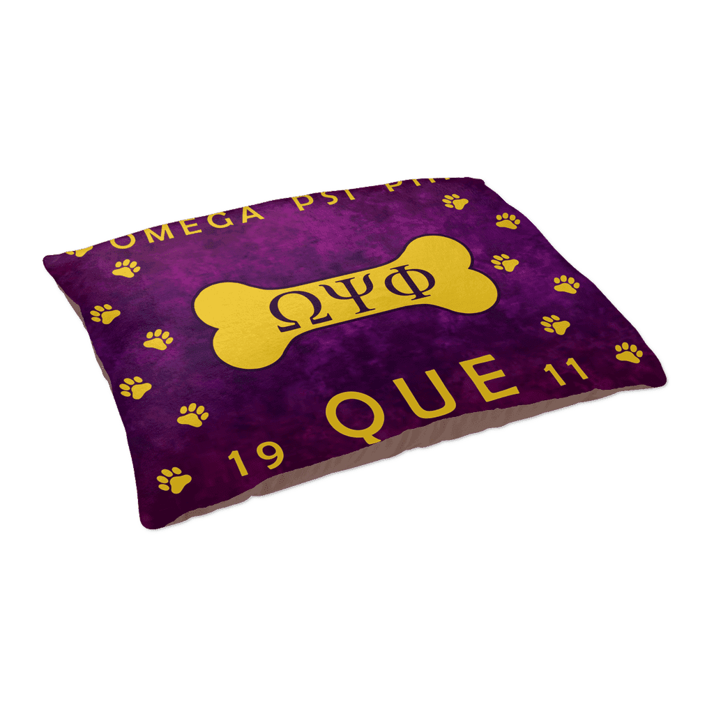 Omega Psi Phi Pet Bed - Unique Greek Store