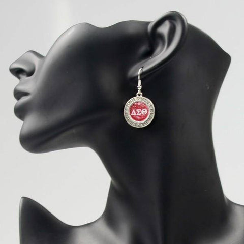 Image of Delta Sigma Theta Earrings - Unique Greek Store
