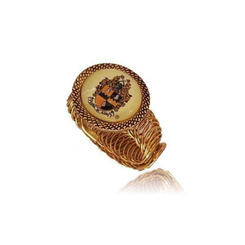 Image of Alpha Phi Alpha Spring Cuff - Unique Greek Store