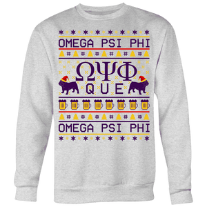 Omega Psi Phi Ugly Sweaters - Unique Greek Store