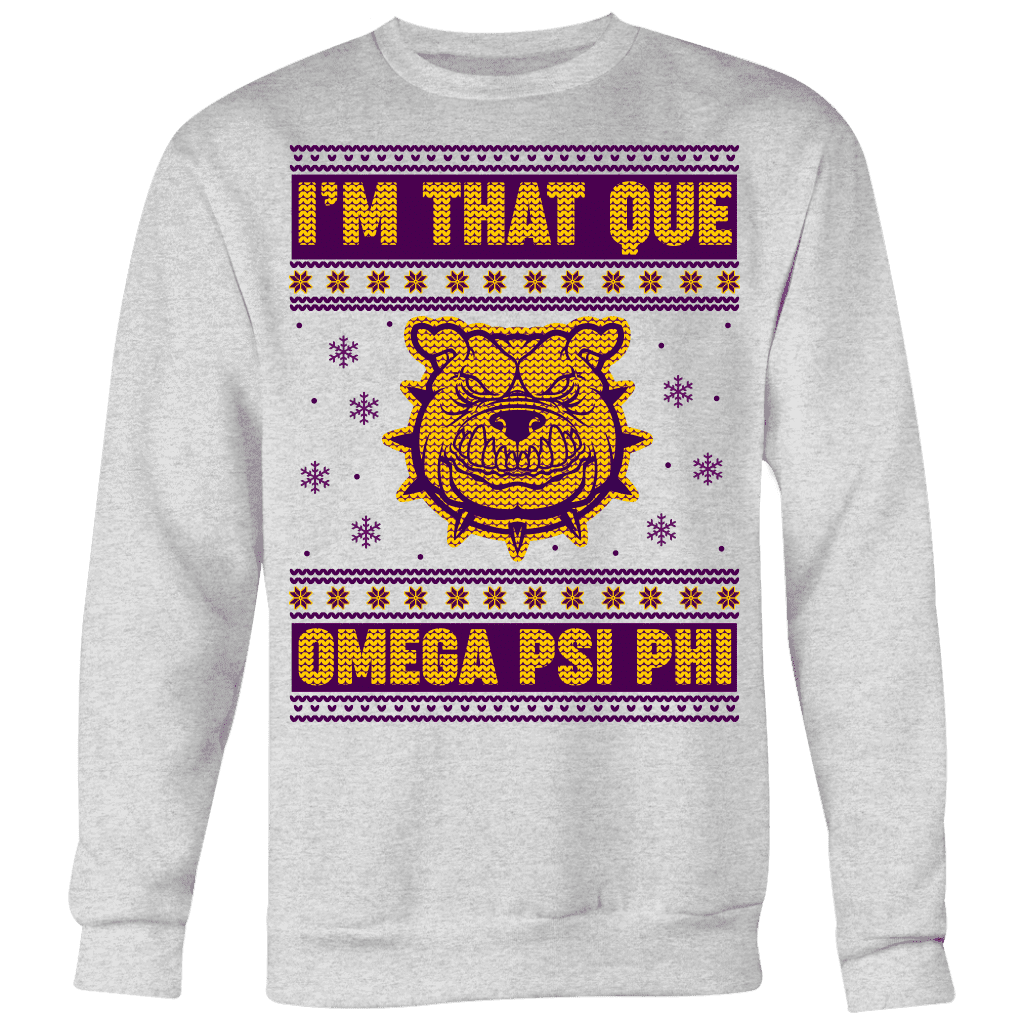 Omega Psi Phi 2018 Ugly Christmas Sweater - Unique Greek Store