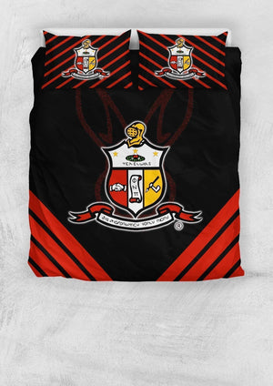 Kappa Alpha Psi Bedding Set - Unique Greek Store