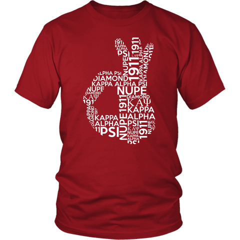 Kappa Alpha Psi Sign Tee - Unique Greek Store