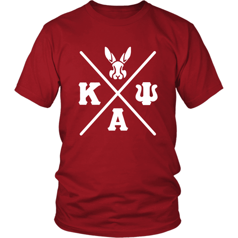 Kappa Alpha Psi Greek District Tee