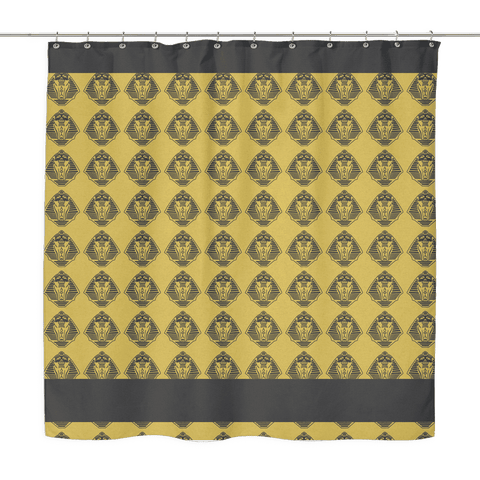 Alpha Phi Alpha Shower Curtain - Unique Greek Store