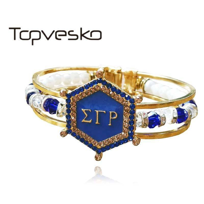 Sigma Gamma Rho Bracelet Jewelry - Unique Greek Store
