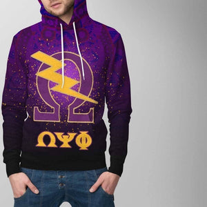 Omega Psi Phi Hoodie - Unique Greek Store