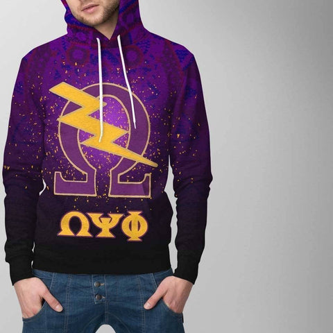 Image of Omega Psi Phi Hoodie - Unique Greek Store