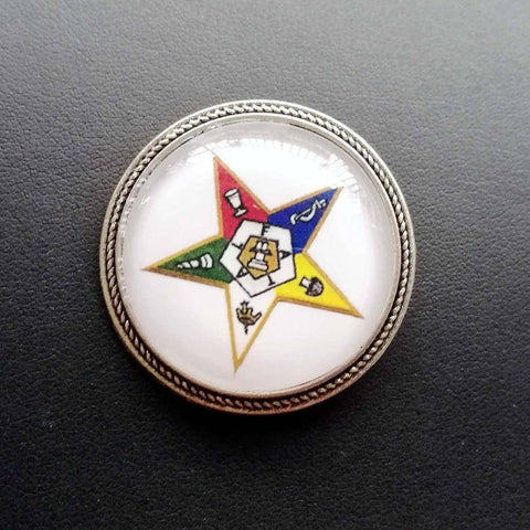 Image of Order of the Eastern Star Lapel Pin Jewelry