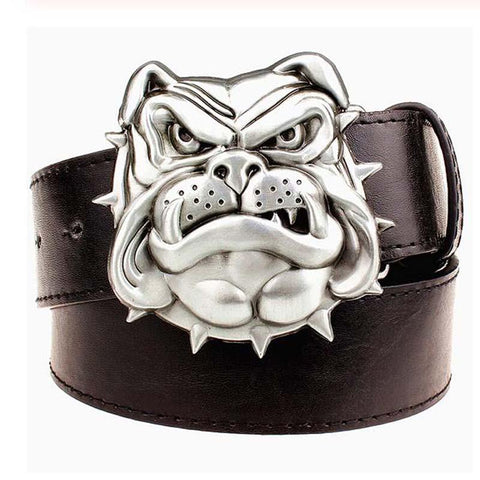 Omega Psi Phi Bulldog Buckle Design