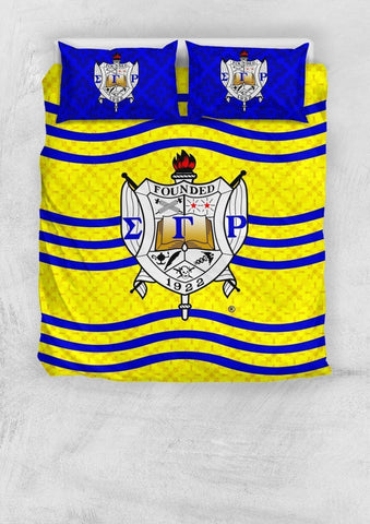 Image of Sigma Gamma Rho Bedding Set - Unique Greek Store