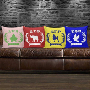 Sigma Gamma Rho Founding Year Pillow Covers - Unique Greek Store