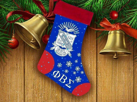 Image of Phi Beta Sigma Christmas Stocking - Unique Greek Store