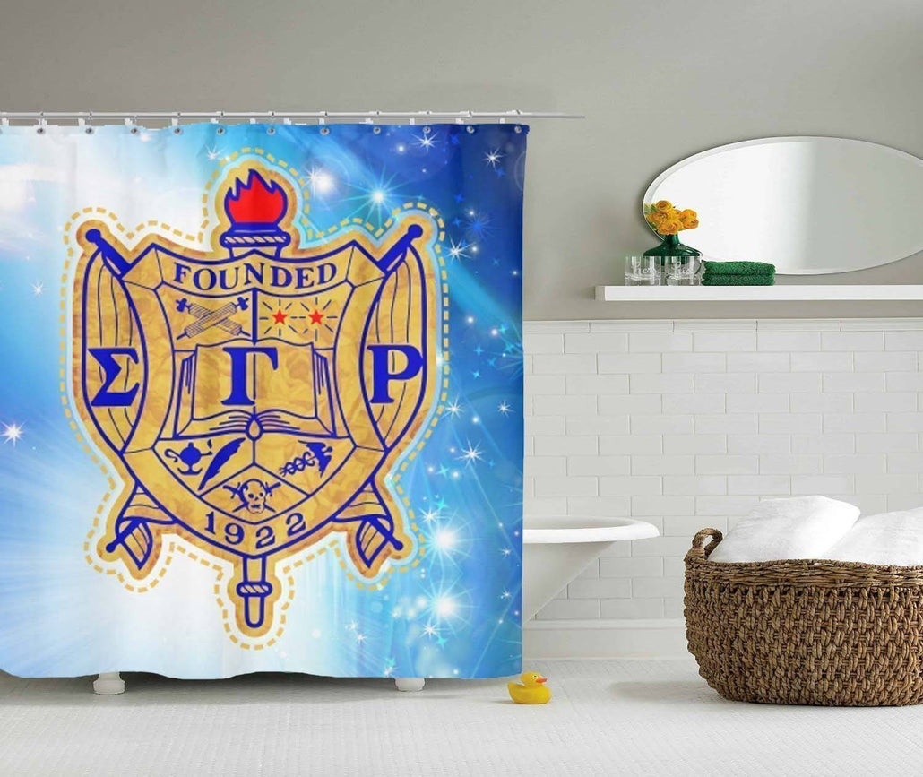 Sigma Gamma Rho Shower Curtain