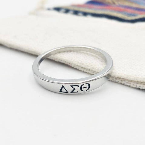 Image of Delta Sigma Theta Designer Ring - Unique Greek Store