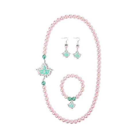 Alpha Kappa Alpha Pink and Green Set Jewelry - Unique Greek Store