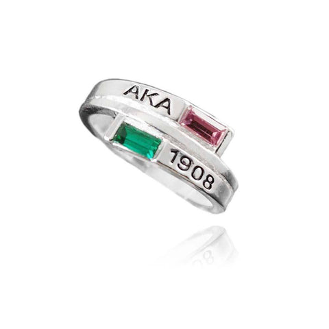 Alpha Kappa Alpha 1908 Ring - Unique Greek Store