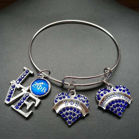 Zeta Phi Beta 1920 Love Charms