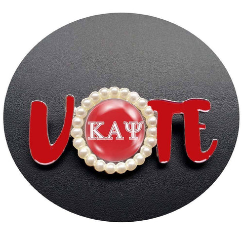 Kappa Alpha Psi Vote Lapel Pin