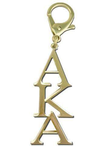 Image of Alpha Kappa Alpha Keyrings Jewelry - Unique Greek Store