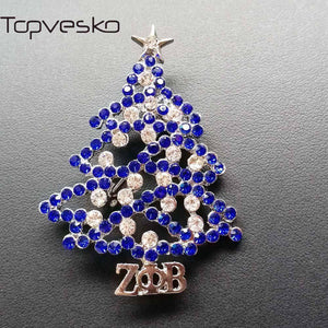 Zeta Phi Beta Christmas Tree Lapel Pin - Unique Greek Store