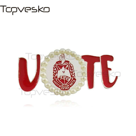 Image of Delta Sigma Theta Voters Pin - Unique Greek Store