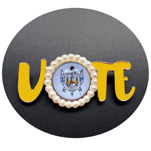 Sigma Gamma Rho Vote Lapel Pin