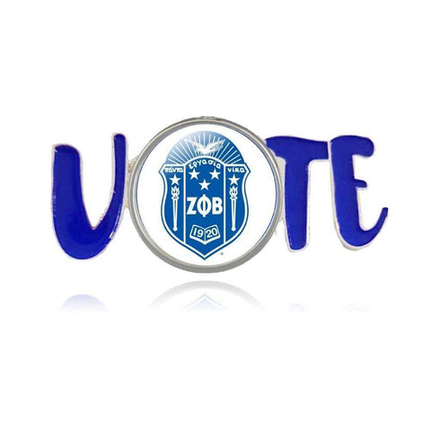 Zeta Phi Beta Voters Lapel Pin