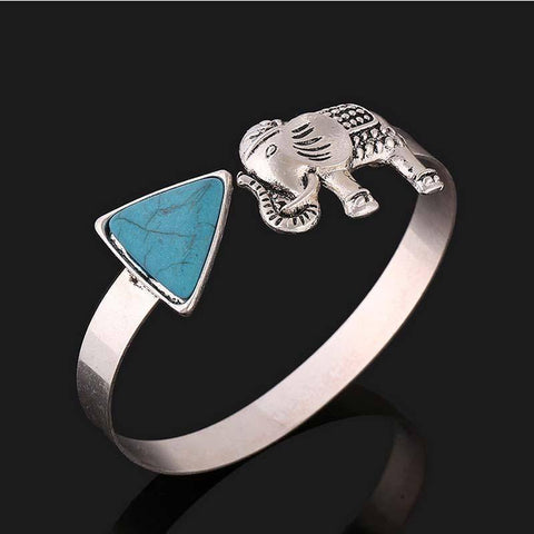 Image of Delta Sigma Theta Elephant Bangle - Unique Greek Store