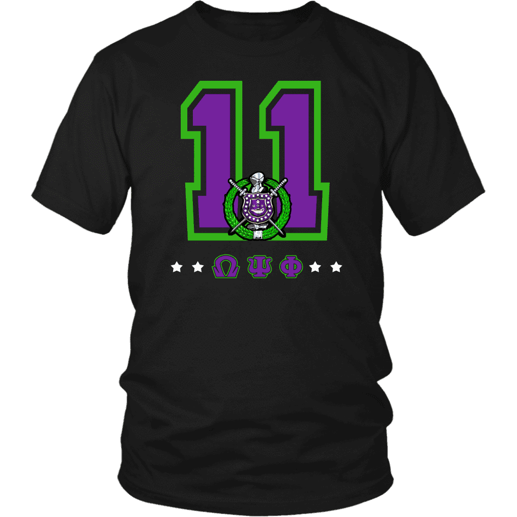 Omega Psi Phi Founding Year District Unisex Shirt - Unique Greek Store