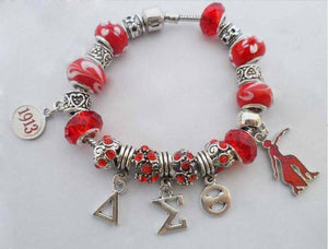 Delta Sigma Theta Bracelet 1 - Unique Greek Store