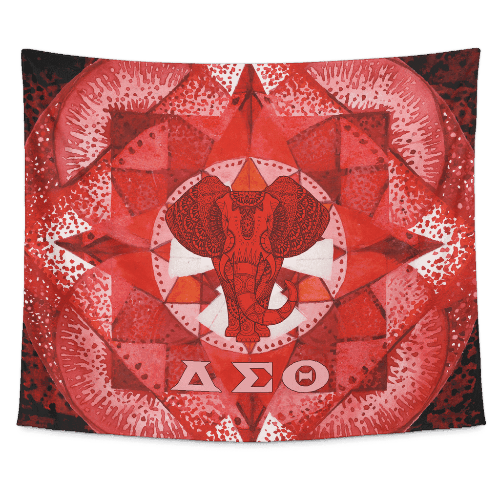 Delta Sigma Theta Tapestry - Unique Greek Store