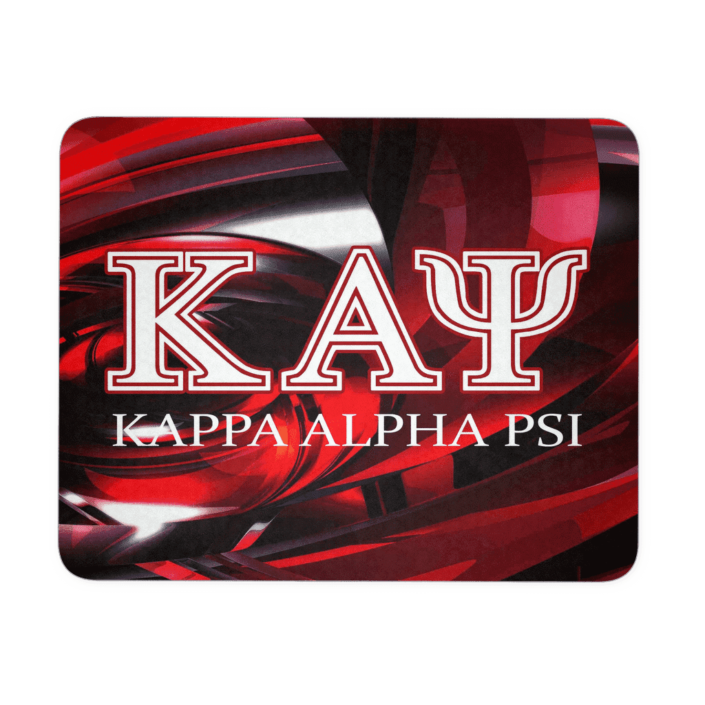 Kappa Alpha Psi Symbol Mousepad - Unique Greek Store