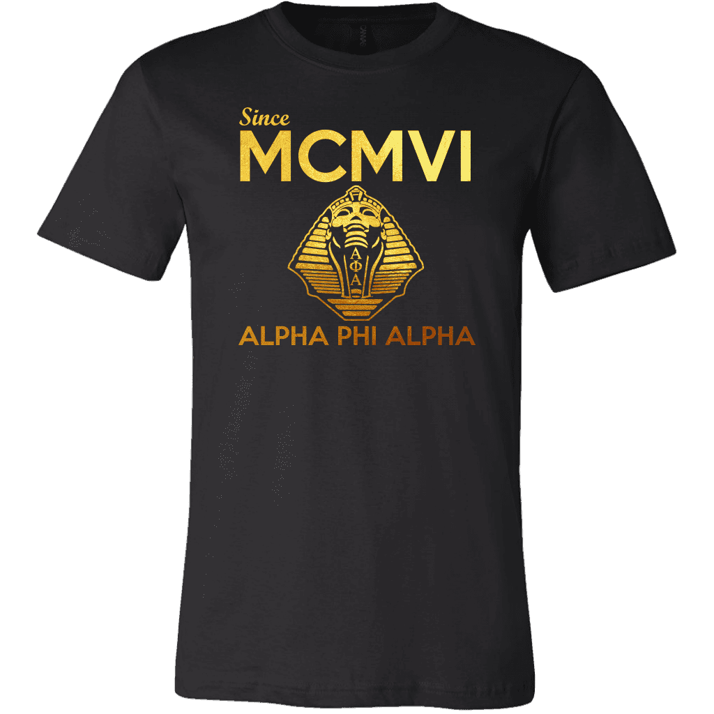 Alpha Phi Alpha MCMVI Tee - Unique Greek Store